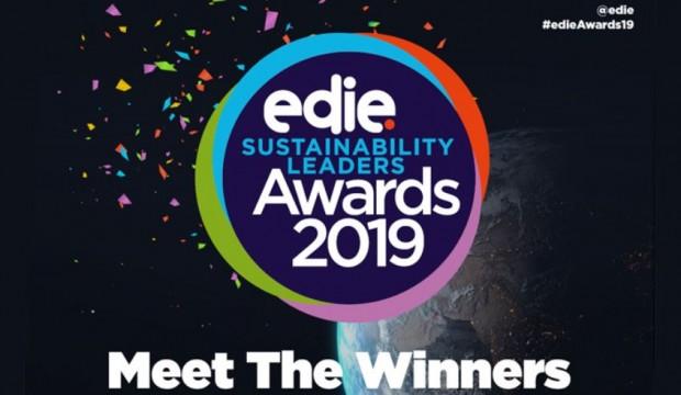 Edie sustainable leaders awards 2019